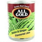 All Gold Melon & Ginger Flavoured Jam 450g