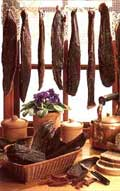 Biltong in the old days