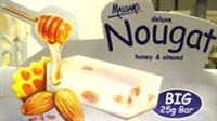Massam's Honey & Almond Nougat 25g