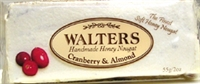 Walter's Cranberry & Almond Nougat 50g