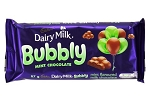 Cadbury Bubbly Mint Chocolate Slab 89g