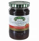Duerr's Strawberry Preserves 16oz