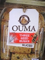 Ouma Sliced 3 Seed Rusks 450g