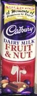 Cadbury Fruit & Nut Slab 80g