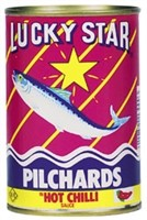 Lucky Star Pilchards In Chilli Sauce 425g