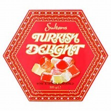 Sultan's Turkish Delight 325g  (Discounted special - castor sugar crystalised in transit due to summer heat)