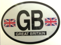 GB Auto Reflective Decal