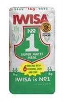 Iwiza Maize Meal 1Kg (Limit of 5 packs per order)