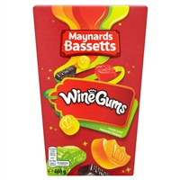 Maynards Bassetts Wine Gums 400g Carton