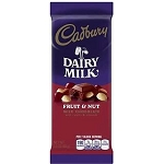 Cadbury Fruit & Nut Chocolate Slab 80g