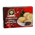 Huntley & Palmer Mince Pies (6 pack)