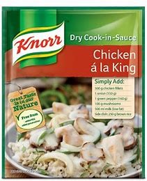 Knorr Chicken a la King Cooking Sauce