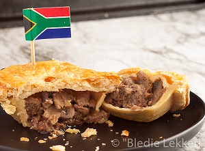 South African Steak & Mushroom Pie