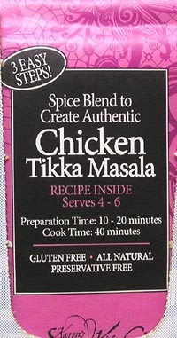 Chicken Tikka Masala Spices